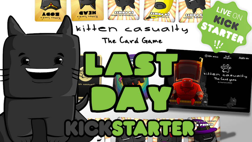 Kitten Casualty - The Card Game project video thumbnail