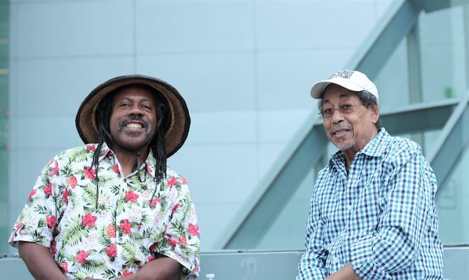 Legendary musicians Andrew Lamb and Warren Smith