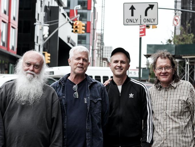 Avant-garde music hero Paul Flaherty with Gene Moore, Gene Janas and Federico Ughi presenting their new album Morfina