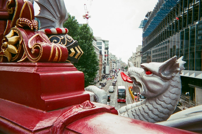 Top 20 Photo: Holborn viaduct by David Fussell. Not in calendar but still for sale as a photo.