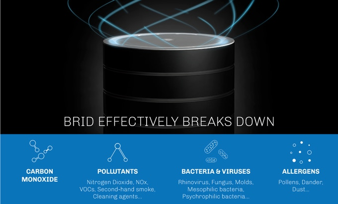 BRID Air Is An Amazingly Powerful Nanotechnology Purifier