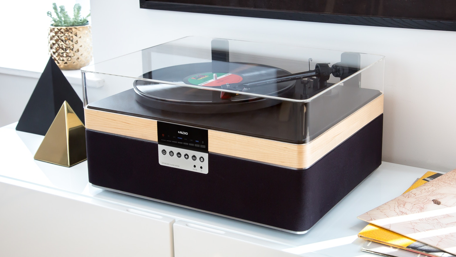 High-grade audio performance in an elegant and compact system all music  lovers can enjoy