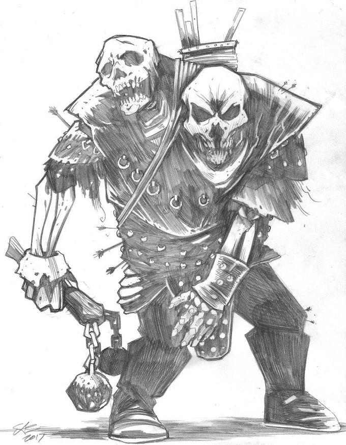 Skelettin (illustration Ethan Slayton)