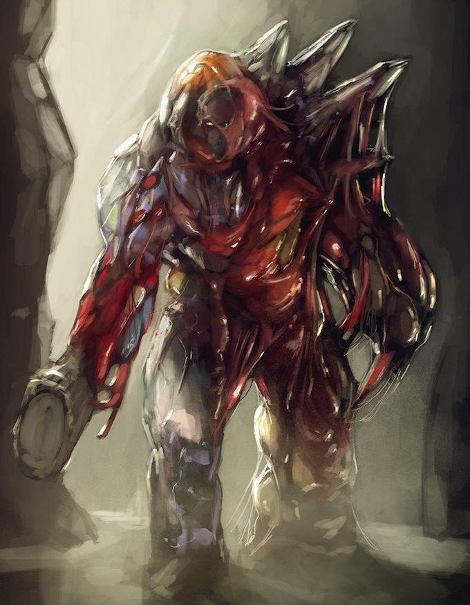 Dreadslime Golem (illustration Jack Kaiser)