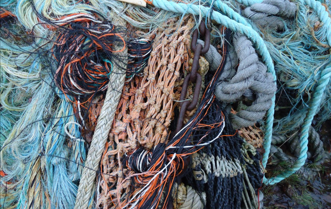 Fishing nets recycled into swimwear textiles