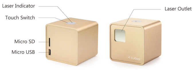 Cubiio The Most Compact Laser Engraver By Muherz Kickstarter