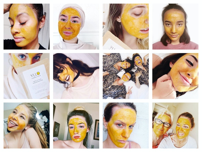 Our amazing customers who love the power of turmeric-based skincare.