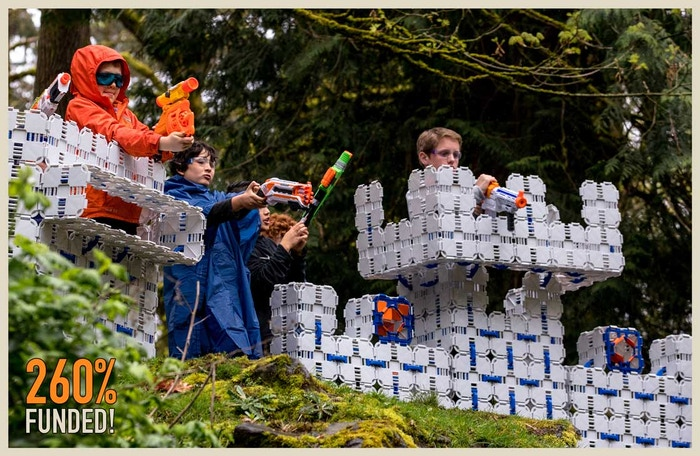 Blaster Boards is revolutionizing NERF wars! Build your own custom battle bunkers and reactive targets to take your NERF game to the next level!