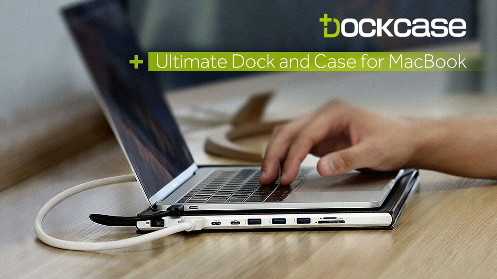 DOCKCASE - The ultimate dock and case for MacBook project video thumbnail