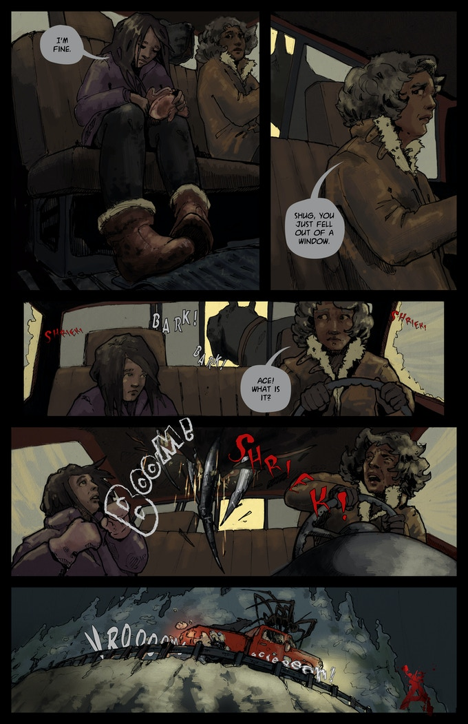 Page #2 of Issue #2: Anti-Aliasing Awakening Pt.2