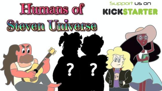 Humans of Steven Universe - An Enamel Pin Set!