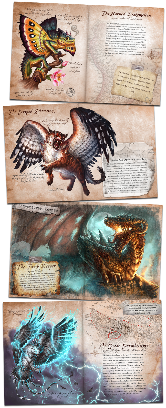 (Saberwing and Storm Bringer creatures were created for Open Legend RPG and are Copyright Seventh Sphere Publishing, LLC 2017)