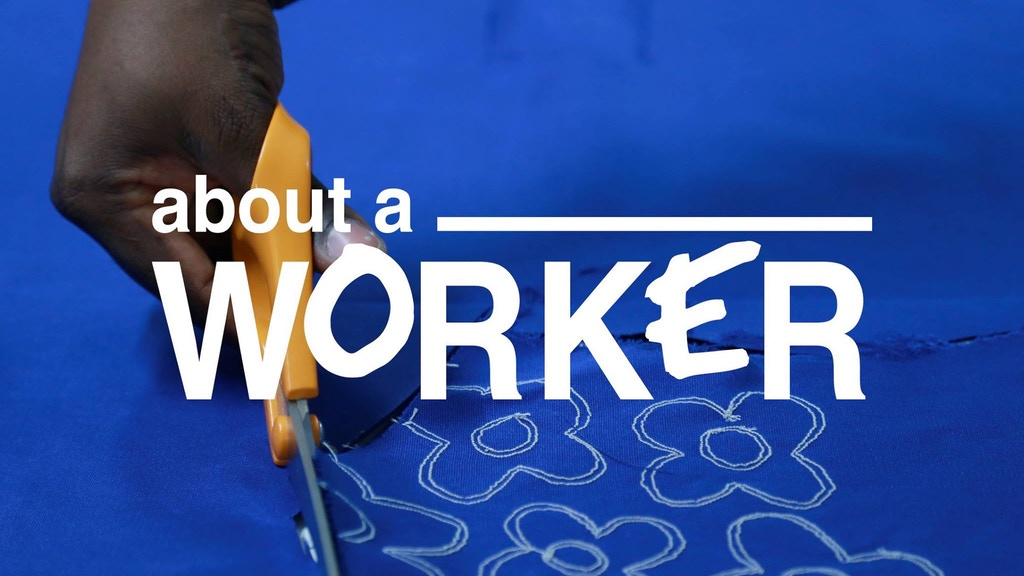 ABOUT A WORKER : made and designed by garment workers project video thumbnail