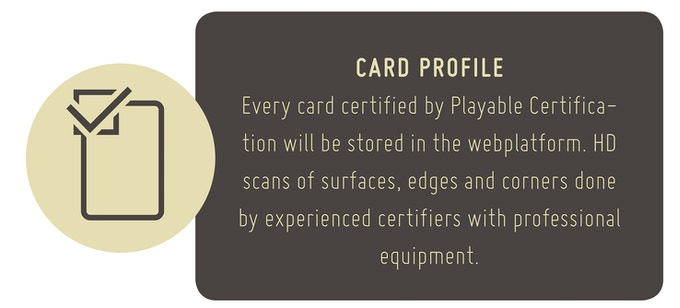 Playable Certification Sleeve´s patent submitted