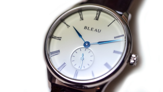 BLEAU Watches: Dress Watches Assembled in Australia
