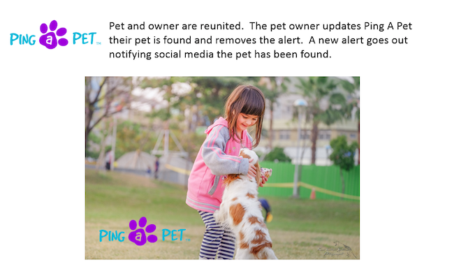 Owner and Pet Reunited