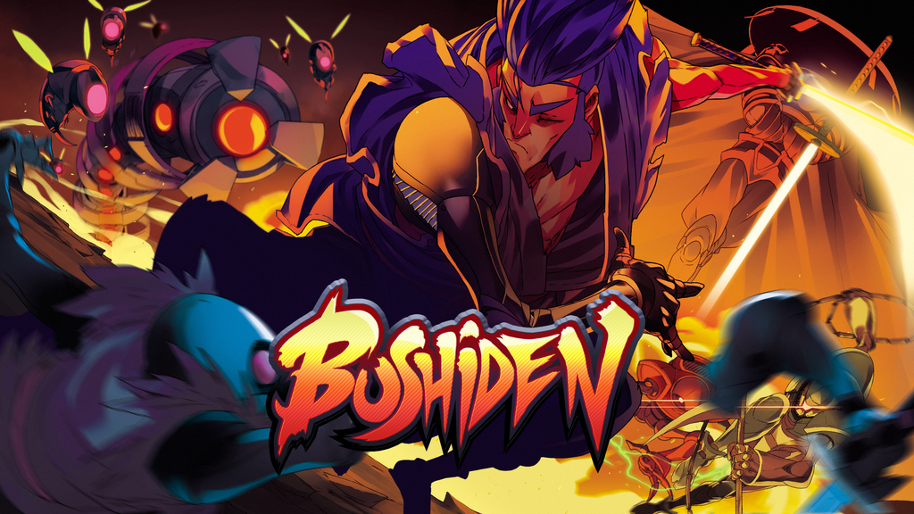 Bushiden - A Futuristic, Ninja Action Platformer project video thumbnail