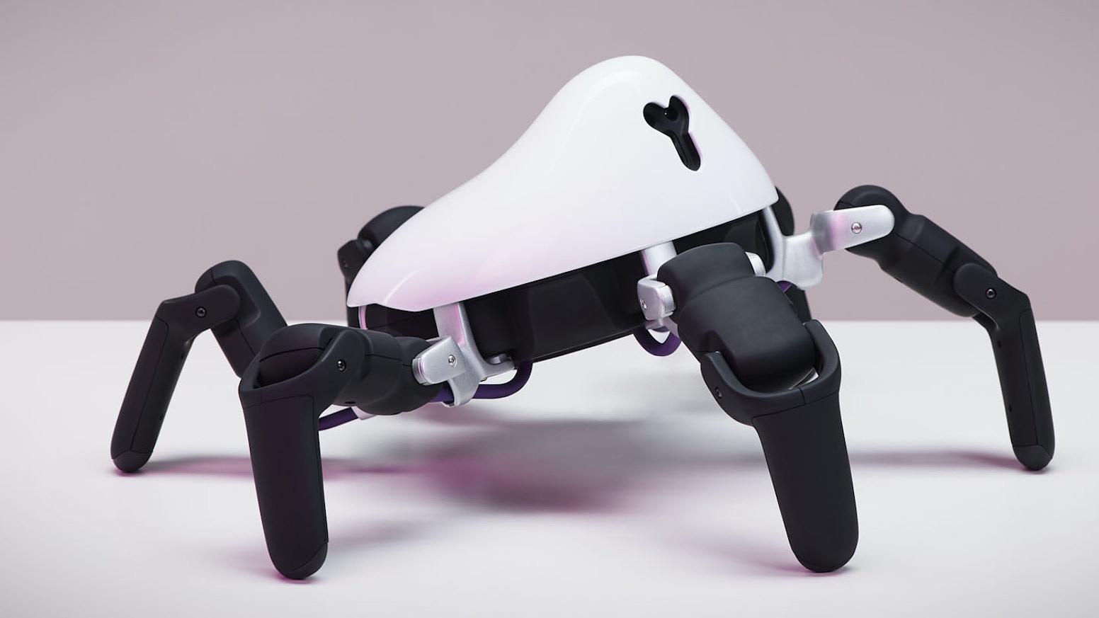 Available today: https://www.vincross.com/hexa . Robot + Robotic SDK. Make something cool. Conquer big problems. Enter the era of robotics.
