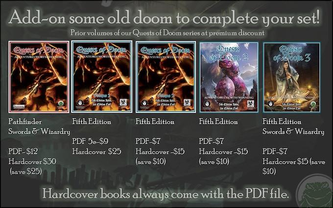 Quests of Doom 4 by Frog God Games — Kickstarter