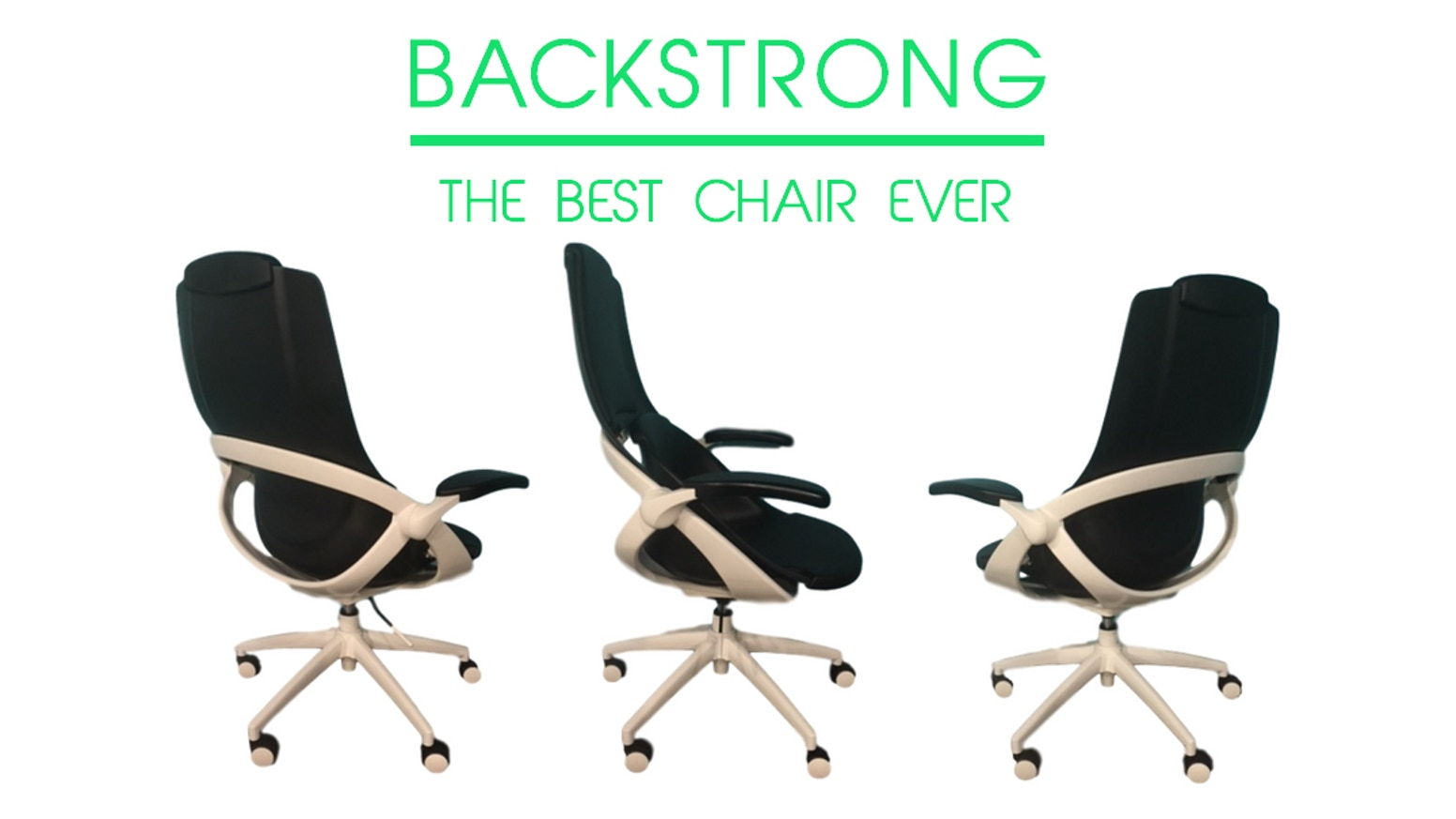 the backstrong chair fixes how you sit let it do the work by