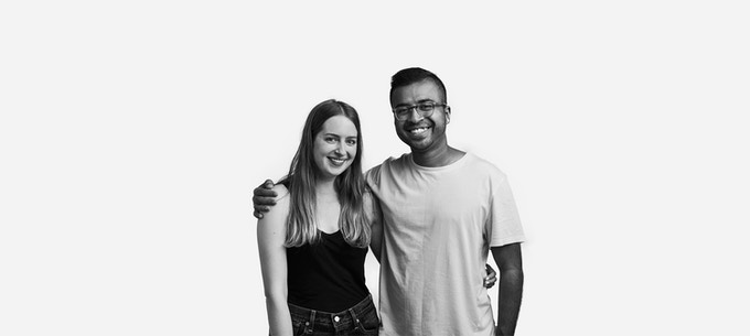 Jaz and Jamil, Co-Founders of YLLO
