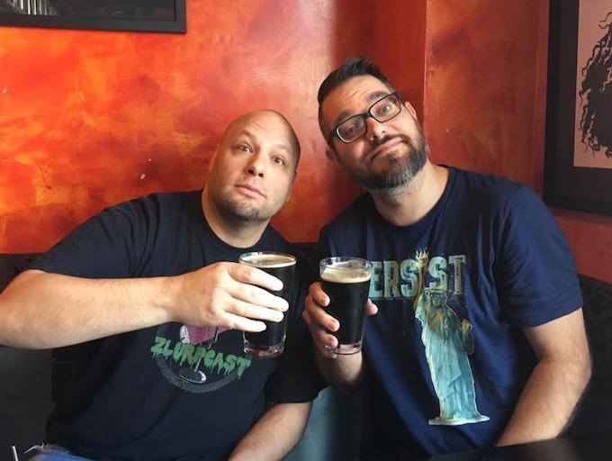Jonny P and Xtreme of Zlurpcast Studios