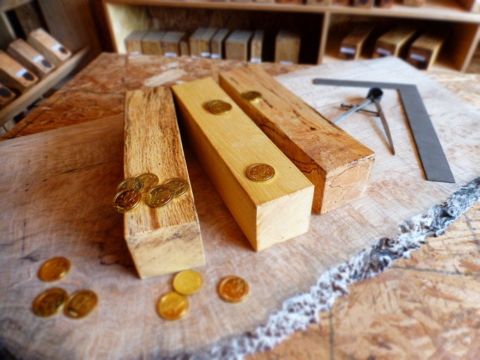 Newest Wood Varieties: White Oak, Mountain Ash and Spalted Silver Maple