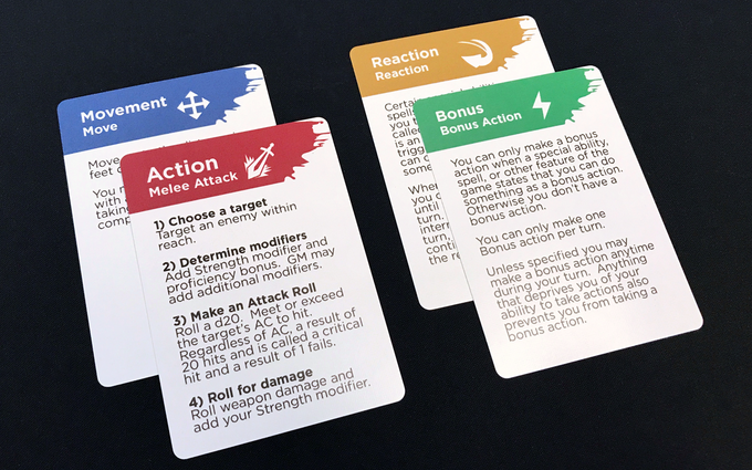 Take Out The Guess Work And Confusion Our Action Cards Provide An Easy Reference Use Them As A General Guide Or Play Onto Table During Your Turn