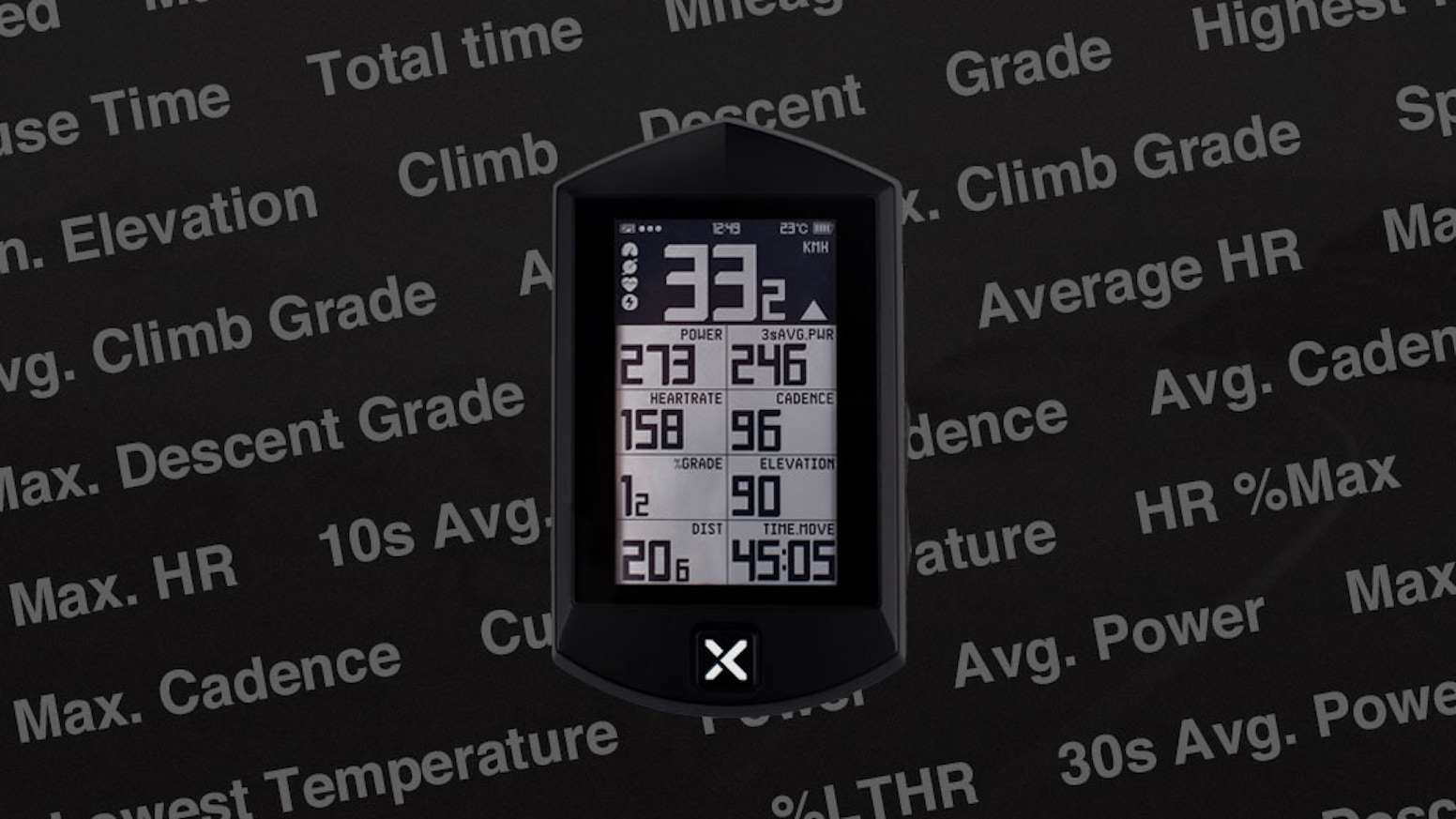 A  quad-GPS cycling computer with ANT+ & BLE, featuring a navigation and cloud sync to make your riding experience as smooth as ever.