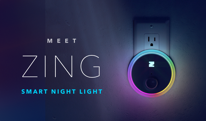 Introducing Zing: the best, smartest night light ever made.