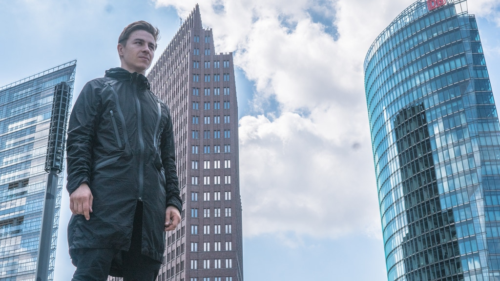 City Jacket - The only jacket that adapts to your lifestyle project video thumbnail