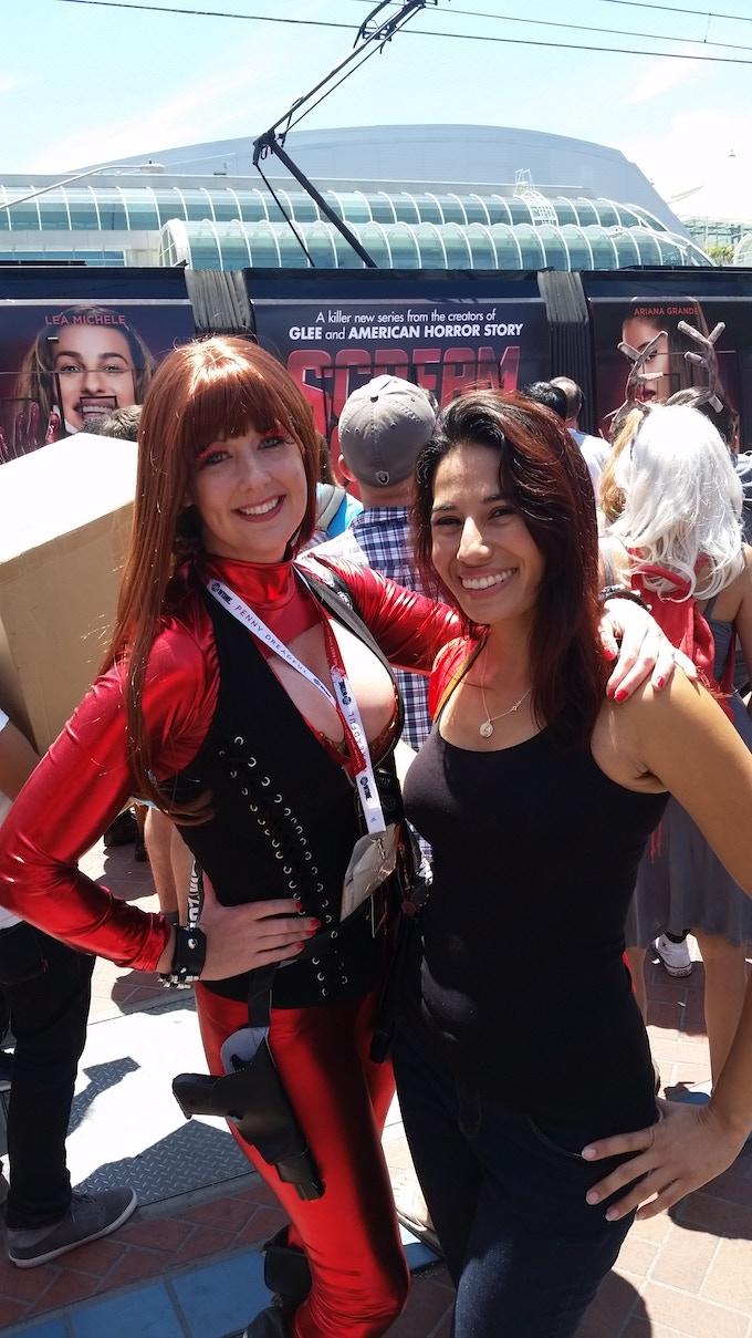 Crimson at the San Diego Comic Con 2015