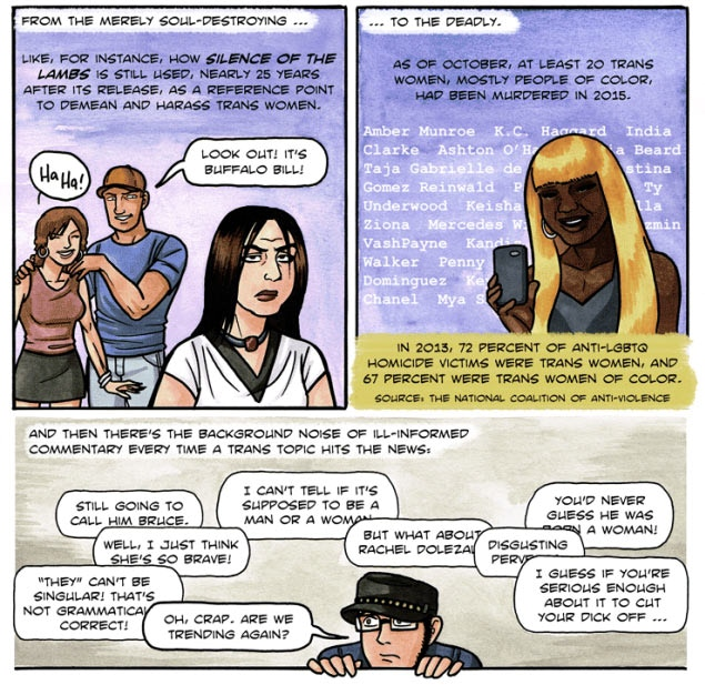 We're Still Here: An All-Trans Comics Anthology by Tara Avery