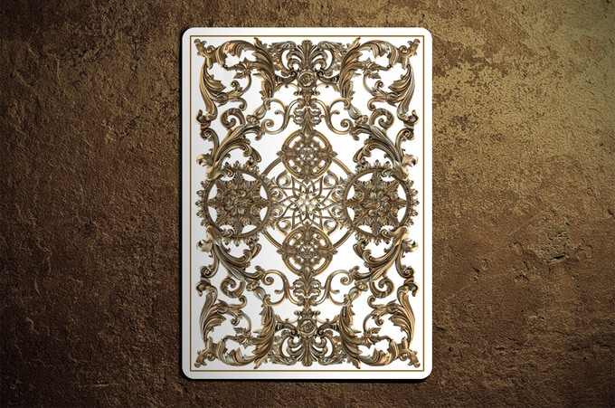 Winter Edition Golden Age Playing Cards Back