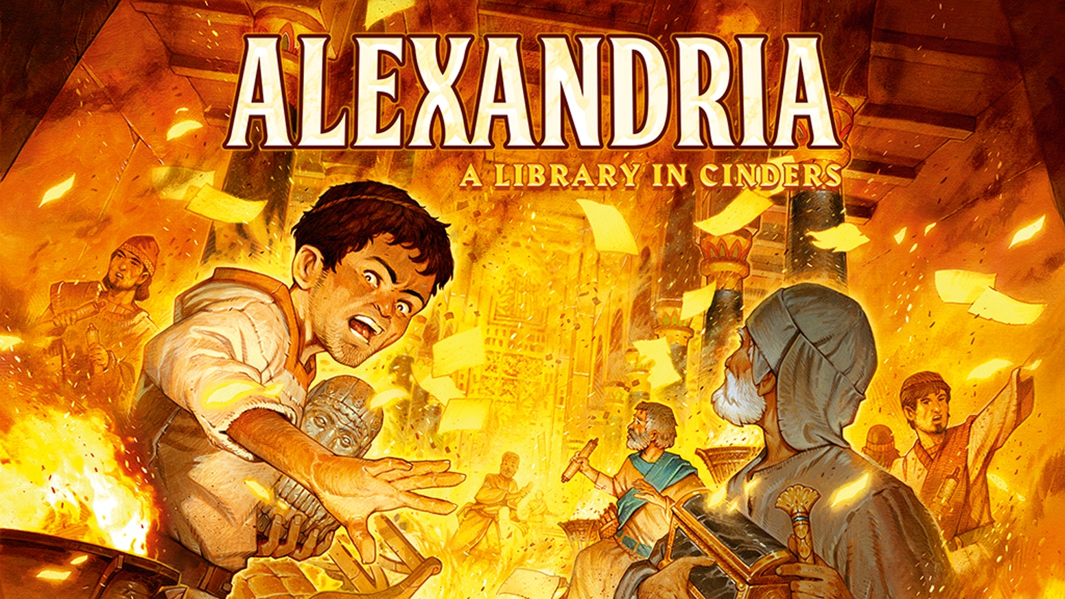 alexandria by ludicreations kickstarter