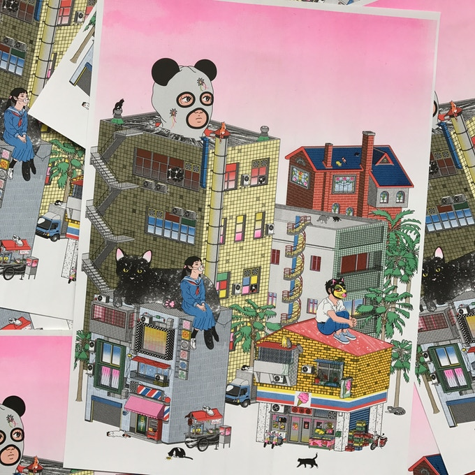 Matiyu  - A3 Print
