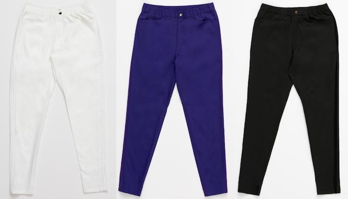 white / purple / black
