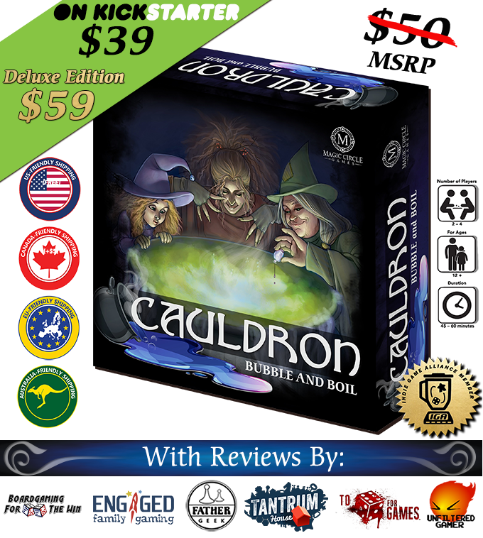 Cauldron: Bubble and Boil Board Game by anthrorob — Kickstarter