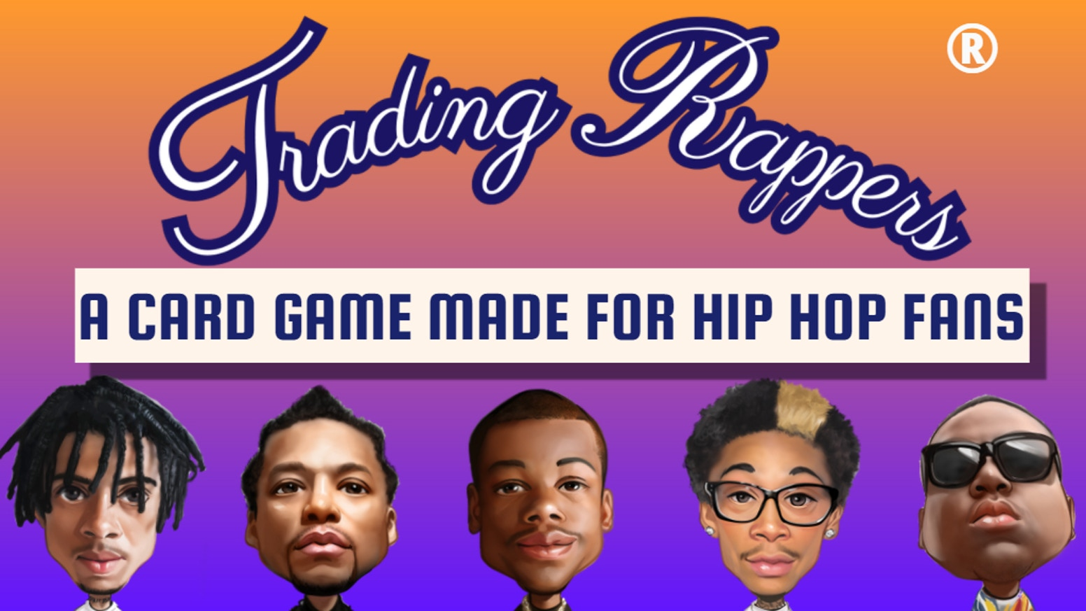 The fun rap-culture themed card game that will settle the greatest rapper debate once and for all.