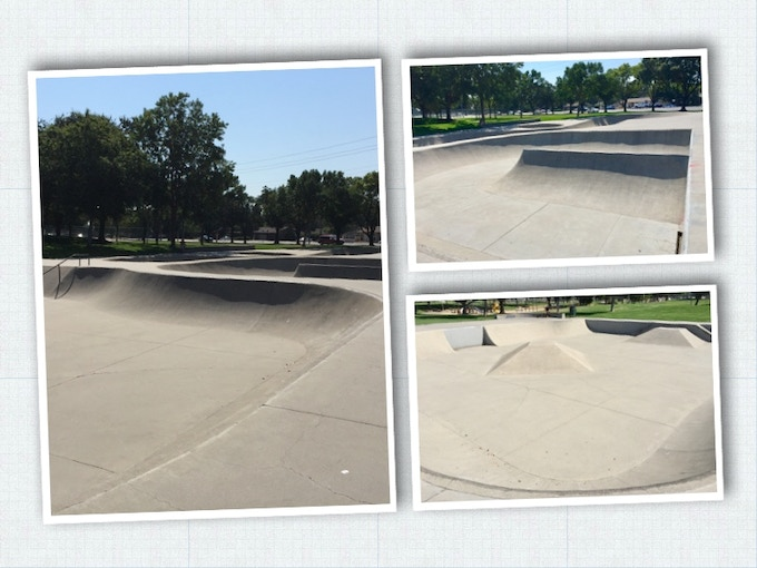 This is the skatepark where the idea was hatched