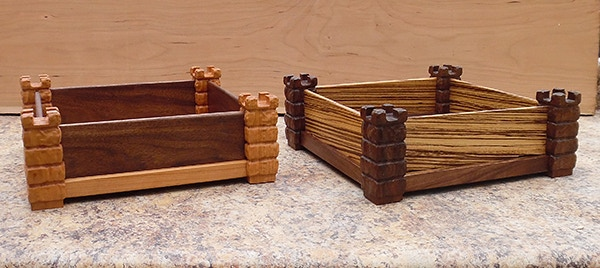 "Wood Side Panels  Designs ""Grand Huntsman and Grand Master"""