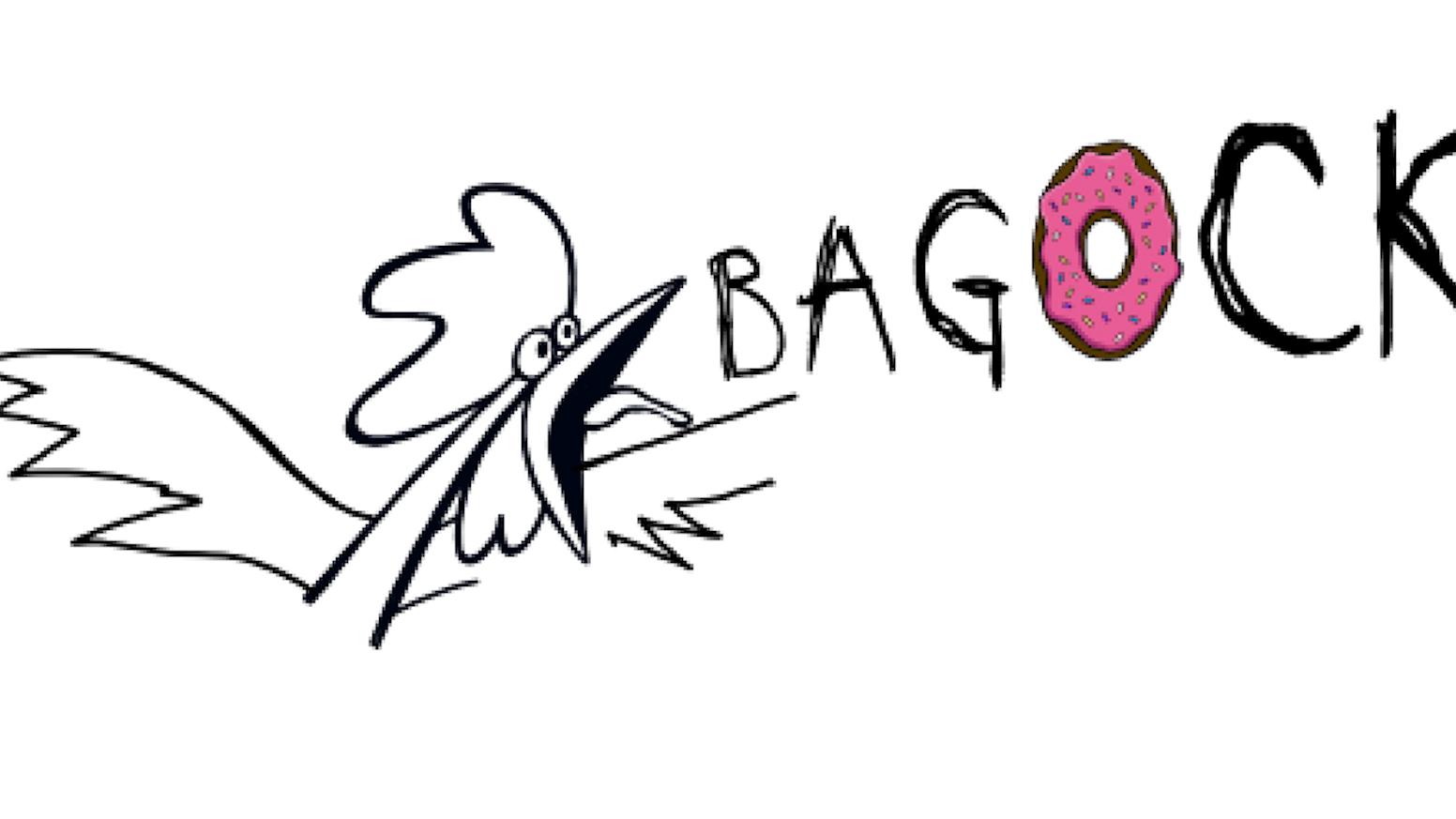 BAGOCK Fried Chicken & Doughnuts. by Gillian Clark