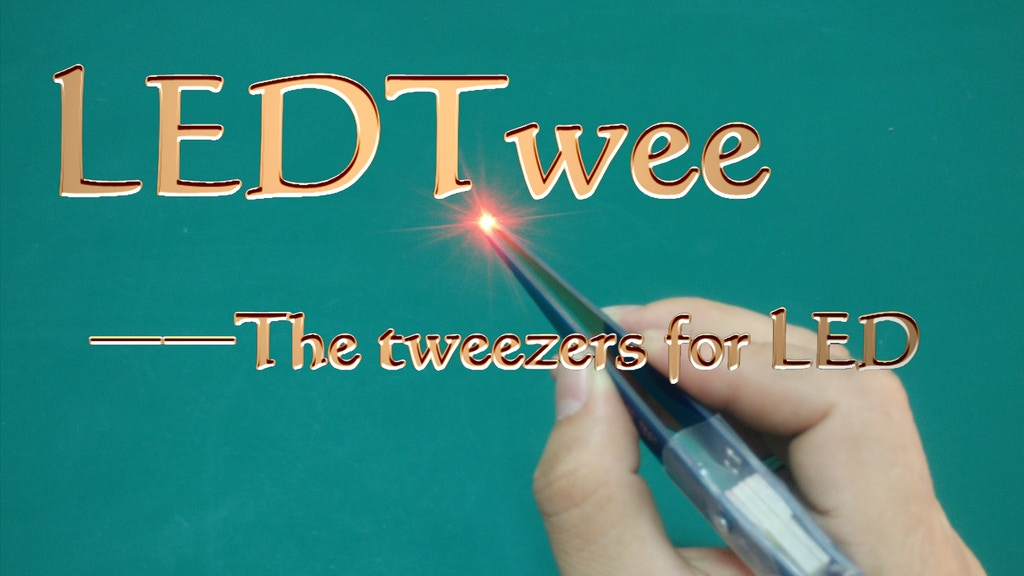 LEDTwee -Tweezers for LED project video thumbnail