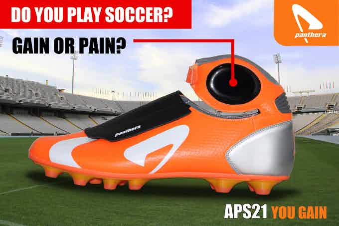 The football boot that protects your ankles