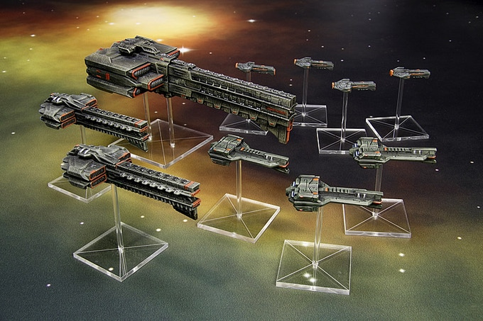 The Dindrenzi Federation - one of the primary factions in the Firestorm Galaxy.