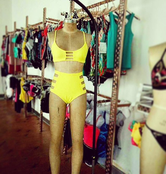 067a1d3dba7c1 ♯GridRitchie - The Yellow Bikini! by Ingrid Ritchie — Kickstarter
