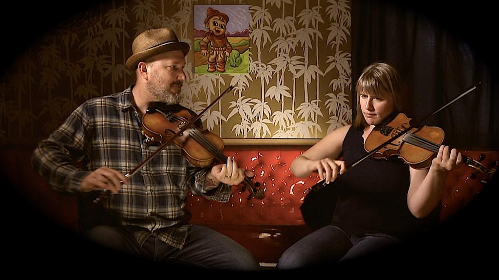 Traditional Fiddle Duet CD--David Bragger & Susan Platz project video thumbnail