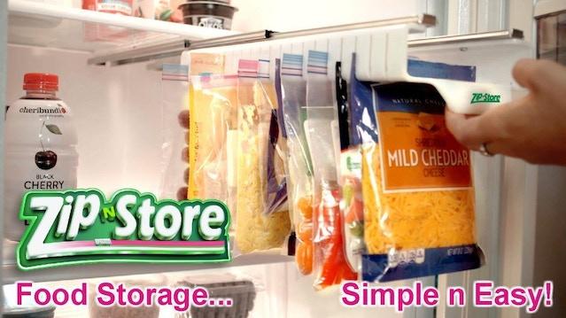 Zip N Store Food Storage Simple And Easy By Len Kensey Thank