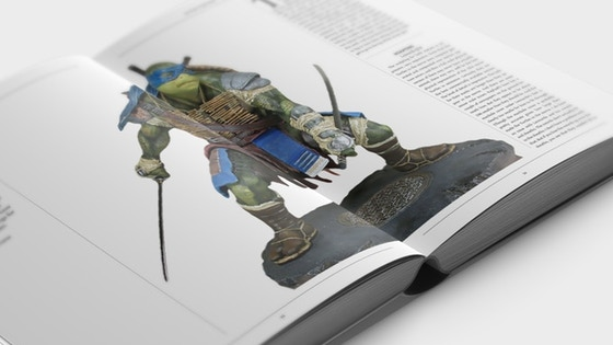 TMNT ACTION FIGURE ENCYCLOPEDIA Hardcover and Softcover