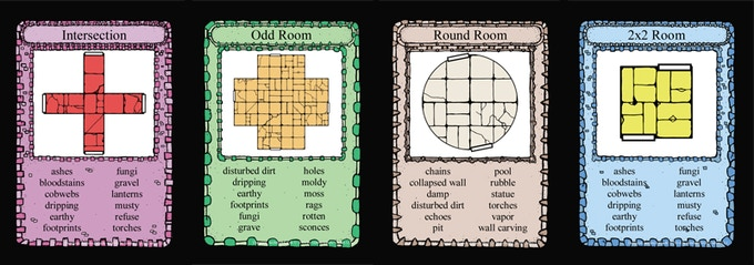 Dungeon Architect Card Examples
